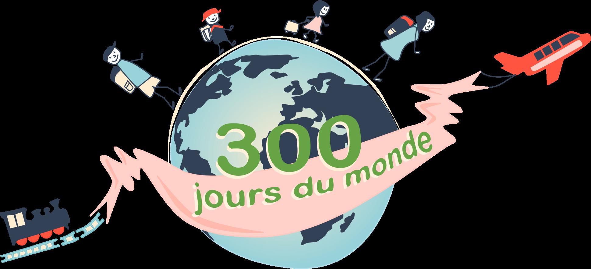 300 jours du monde