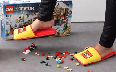 Vous enjambez, sans plus les voir, les constructions LEGO de votre fils