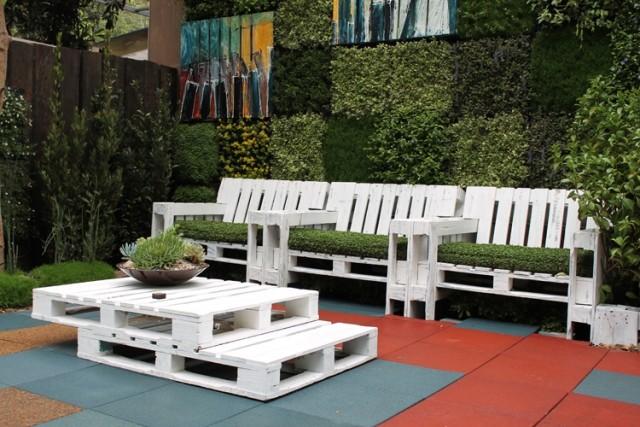 Votre salon de jardin est en palettes #DIY